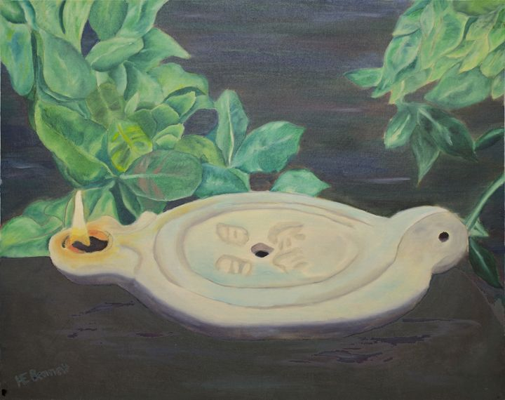 Keep it Burning - Oil Paintings by Haley Mueller