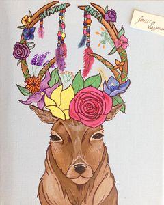 Harmony - Acrylic painting