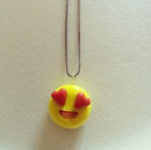 Heart Eyed Emoji Charm!