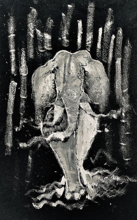 Dancing universe - elephant . 2 - MHG