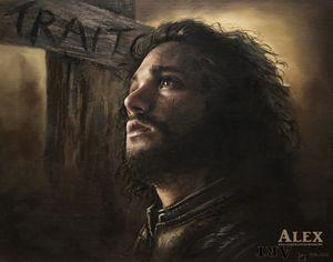 Jon Snow Oil Painting