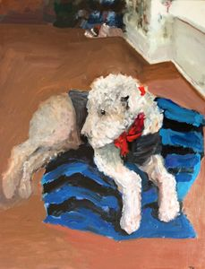 Sweet Dancer the Airedale - Kirsteinfineart