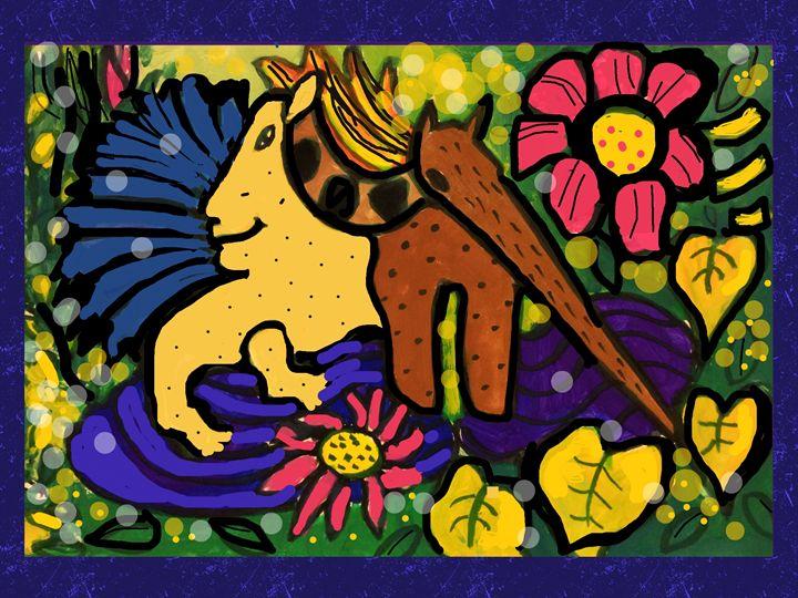 Fantasy Animals Art - Kirsteinfineart