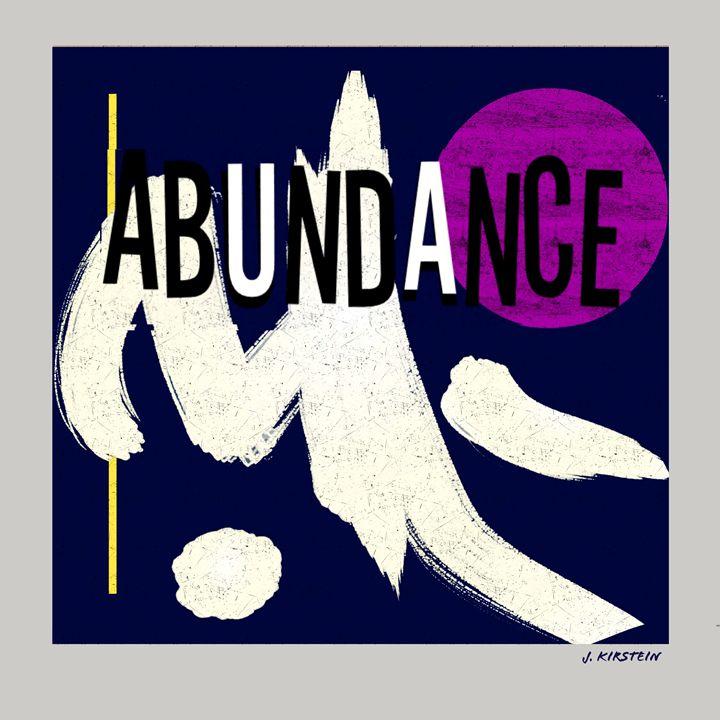 Abundance - Kirsteinfineart
