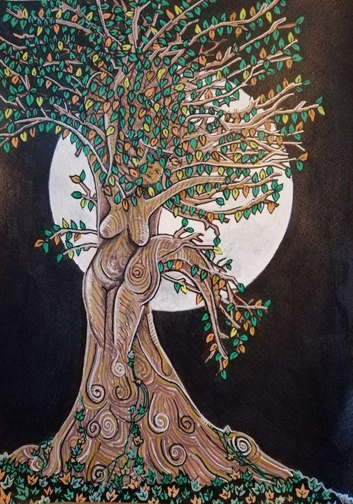The Nurturer - The Moon Goddesses