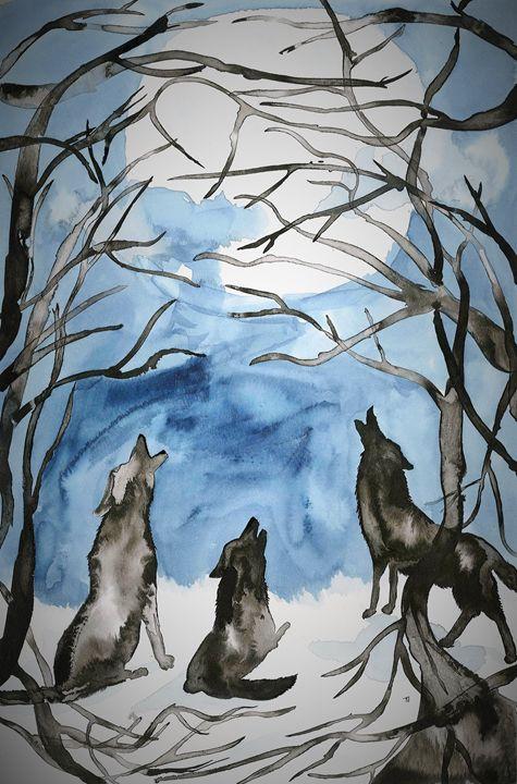 Wolves Howling - Mertyl Lemons