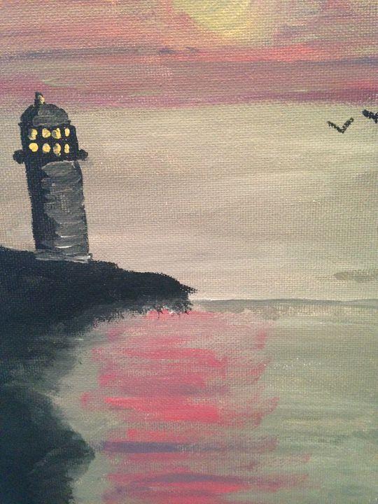 Slanted lighthouse - Still Breathing Designs