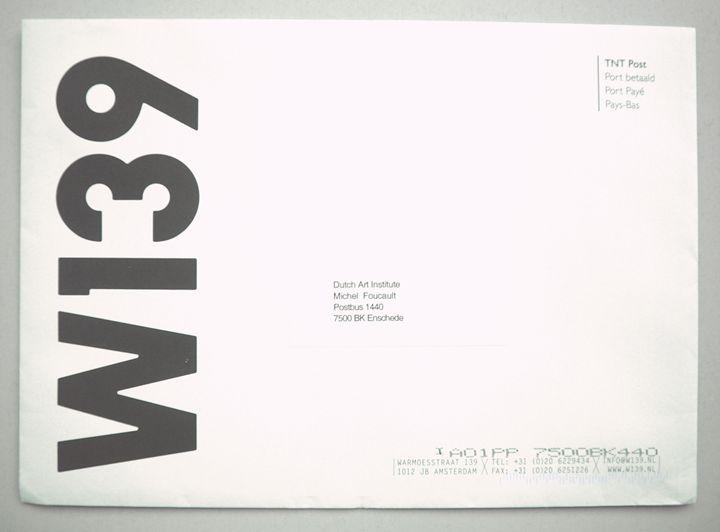 Michel Foucault   W139 - Bauhaus Press Shop
