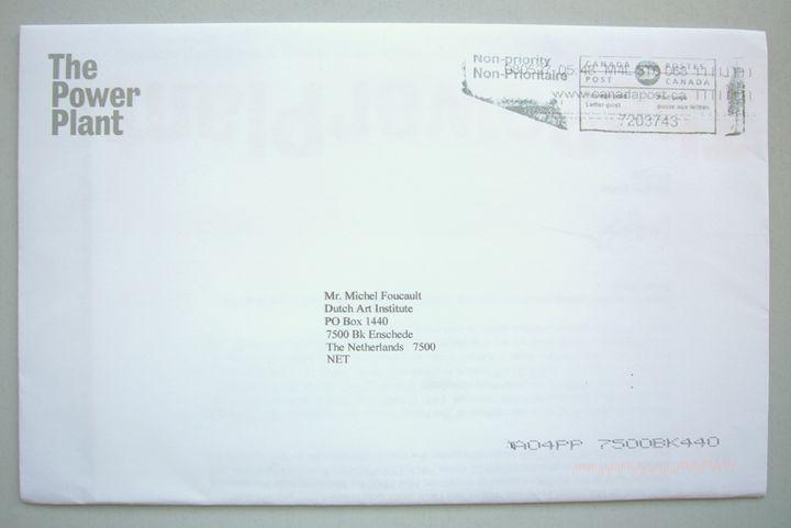 MIchel Foucault | The Power Plant - Bauhaus Press Shop