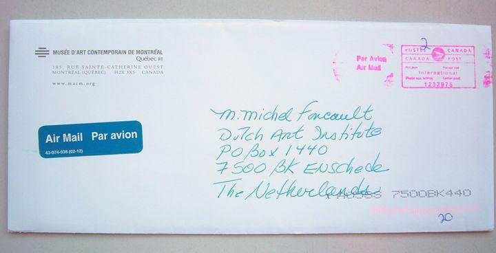 Michel Foucault | MAC - Bauhaus Press Shop