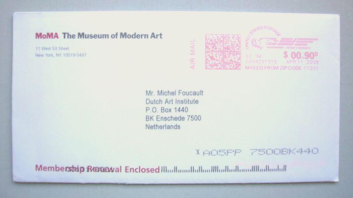 Michel Foucault | MoMa New York - Bauhaus Press Shop