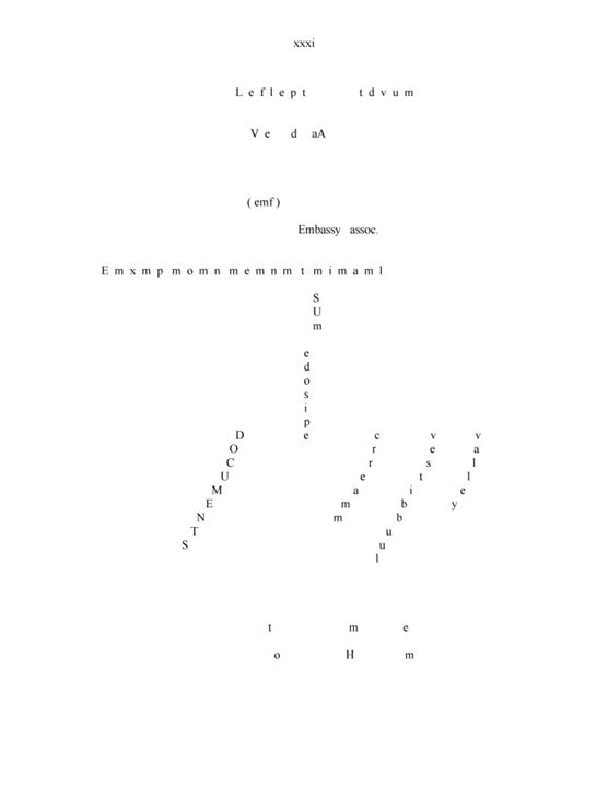 Concrete Poem # 5 - Bauhaus Press Shop