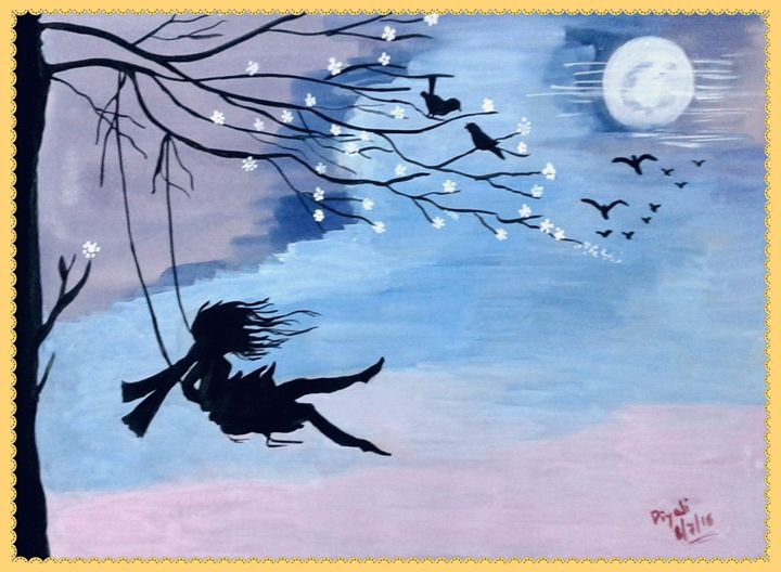 Poetry in canvas - Piyali Mitra