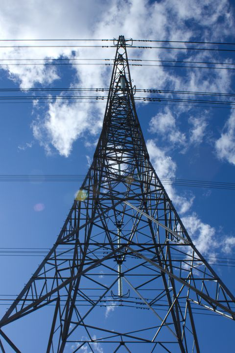 Power Pylon - 1978photography