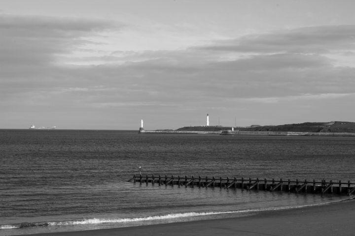 Aberdeen beach - 1978photography