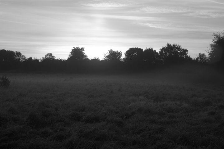 Morning sun rise - 1978photography