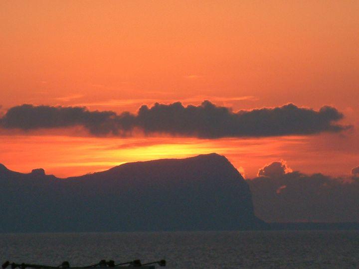 Sunset - Derek Leathlean