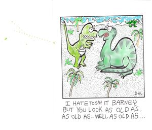 OLD DINOSAURS