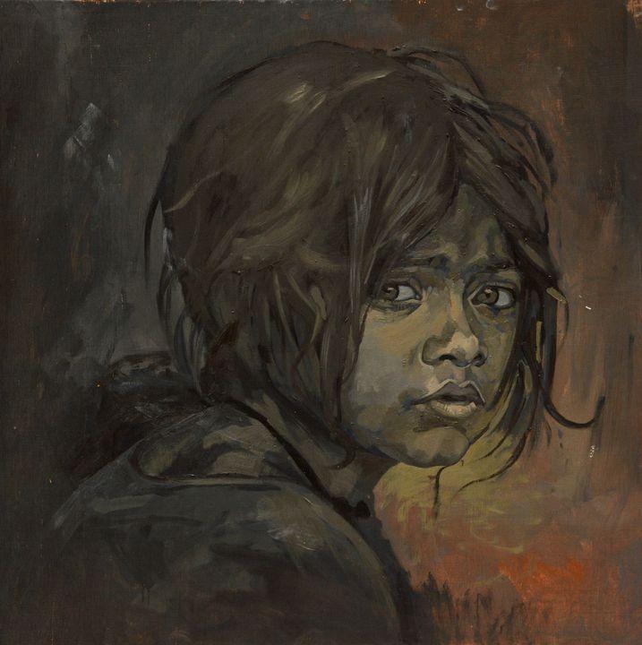 Slum Girl - Sabyasachi Mojumder