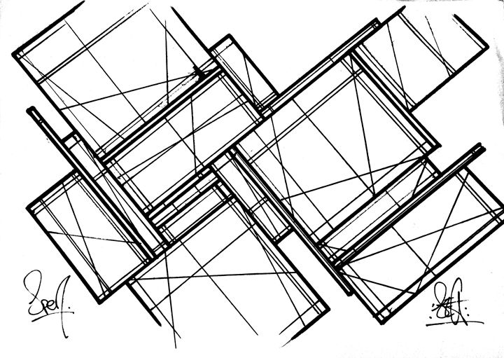 Shapes and lines - Krudspen