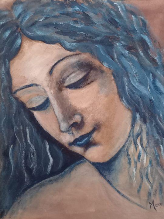 Woman face - Arte nel mondo