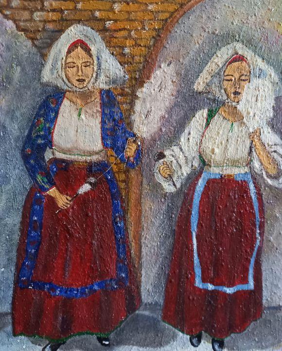The spinners women - Arte nel mondo