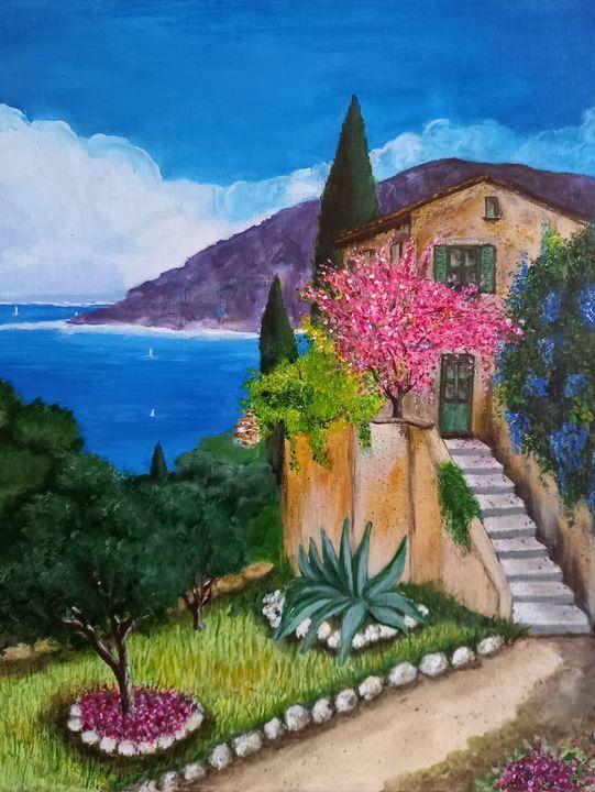 The house on the sea - Arte nel mondo