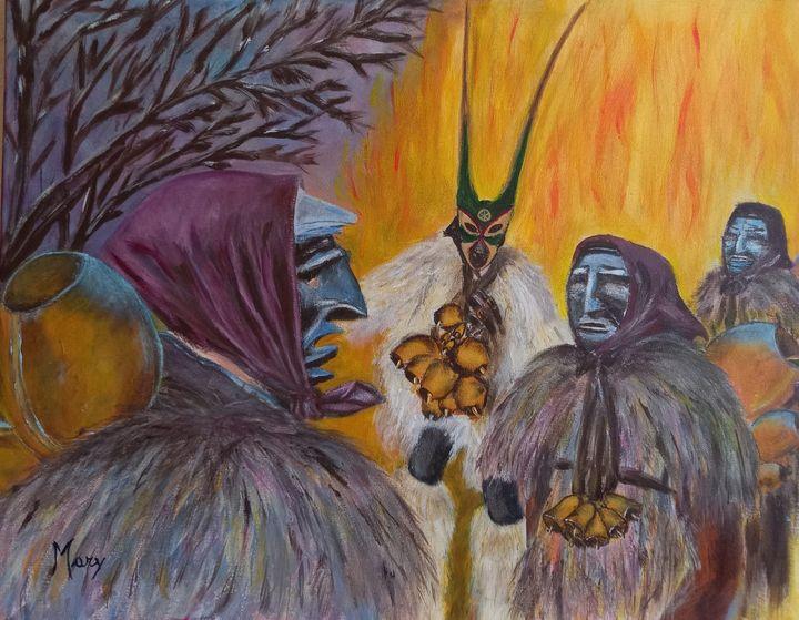 Traditional masks of Sardinia - Arte nel mondo