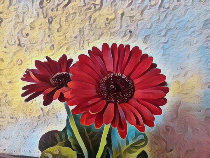 Red Flowers - Art of Nature