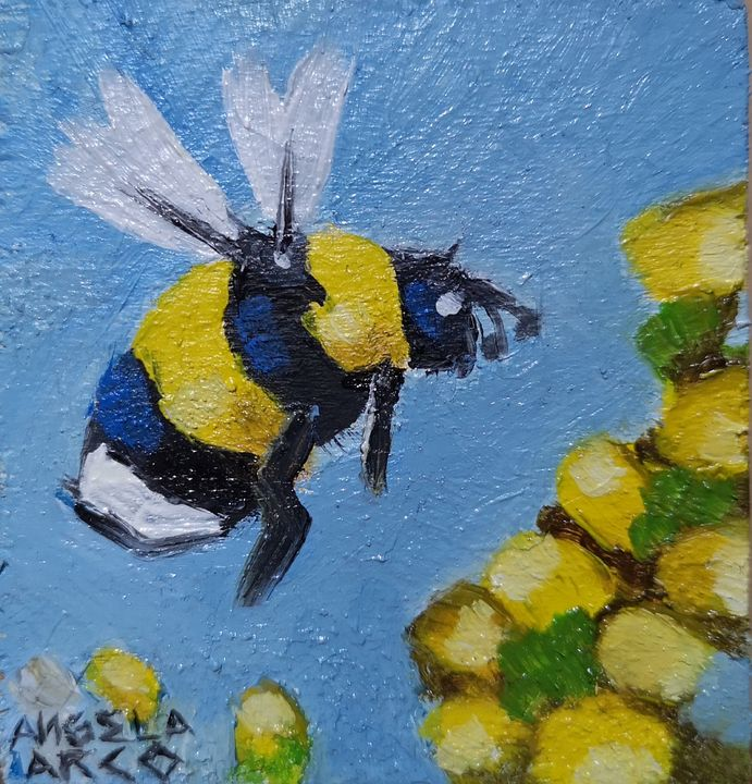 Bee My Friend - aLegnArt