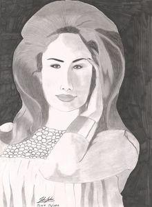 Arabian Fashion Model