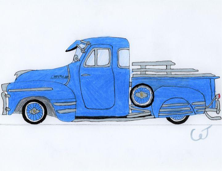 Old Truck - CJ Stronks