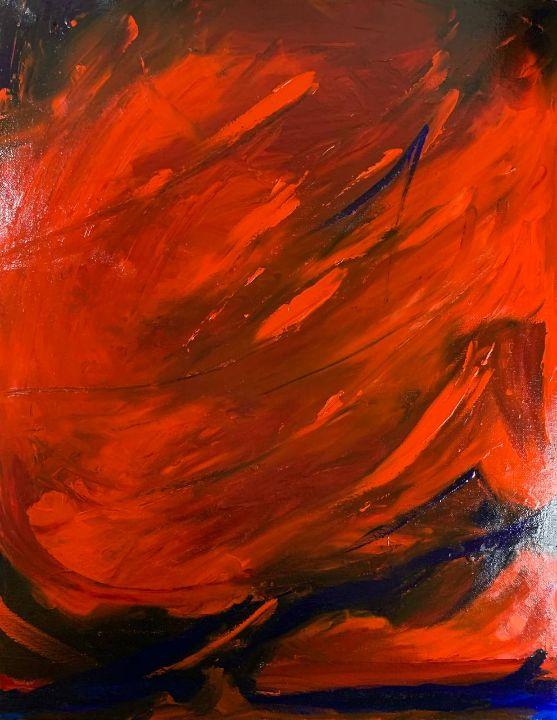 Mefistofel escaping from hell - Anisiya Brynchik