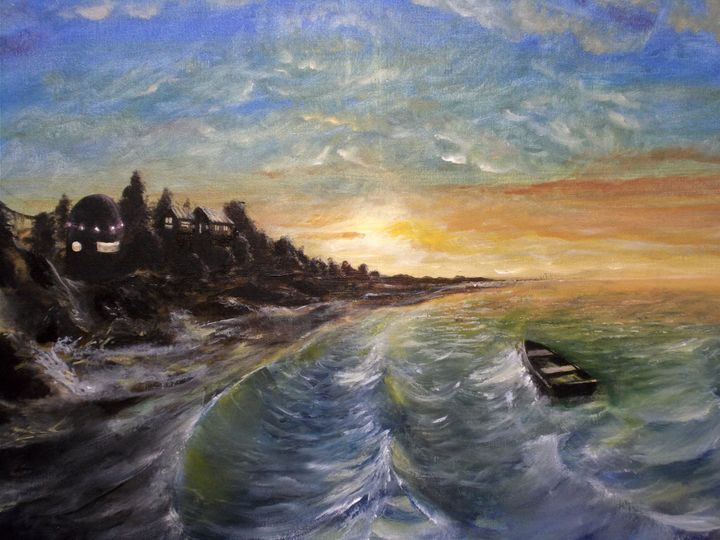Old Horizon - Original Oil paintings by Sam Foster