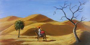 Traveller in the Desert (re-paint)