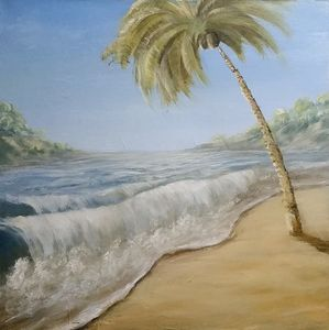 Tropical Shores - Original Oil paintings by Sam Foster