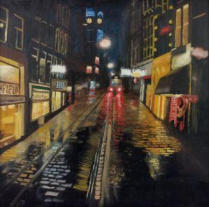 Night Urban Cityscape