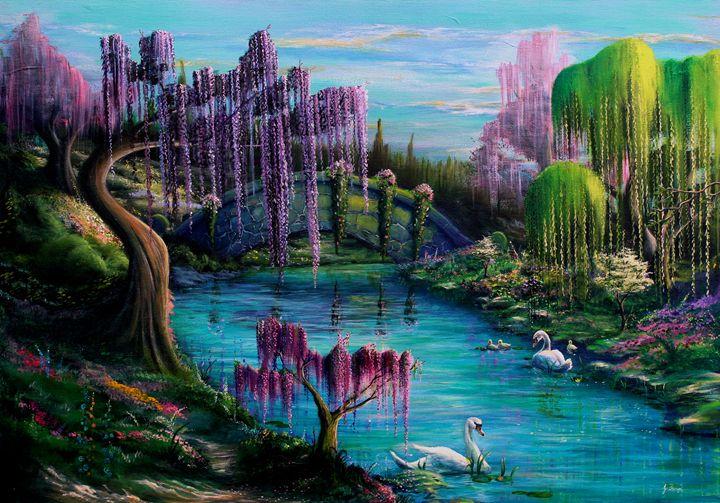 Tranquility Bridge - Gregory J Farrugia
