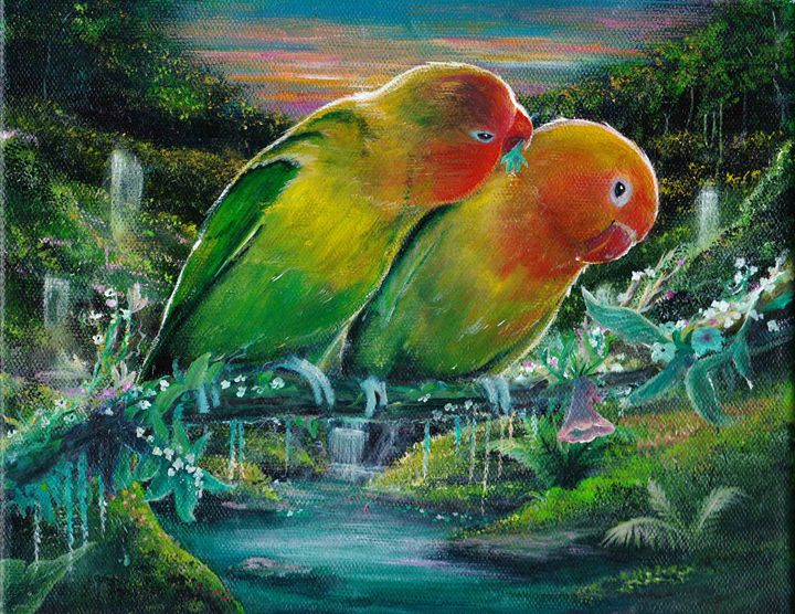 Love Birds - Gregory J Farrugia