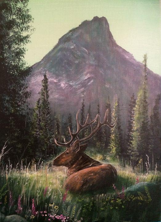 Yellowstone Elk - Gregory J Farrugia