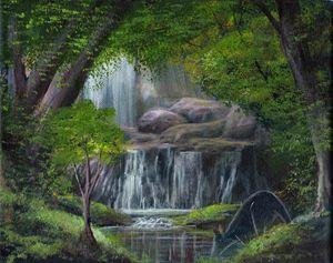 Waterfall impression