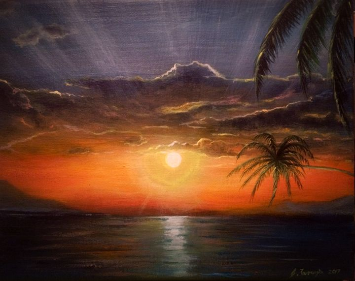 Pacific Sunrise - Gregory J Farrugia