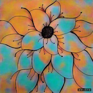 The Diamond Flower