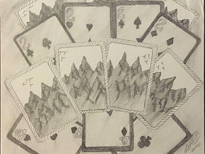 Aces and Deuces - Frank Horton Artwork