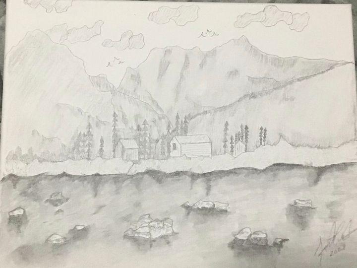 Riverside - Frank Horton Artwork