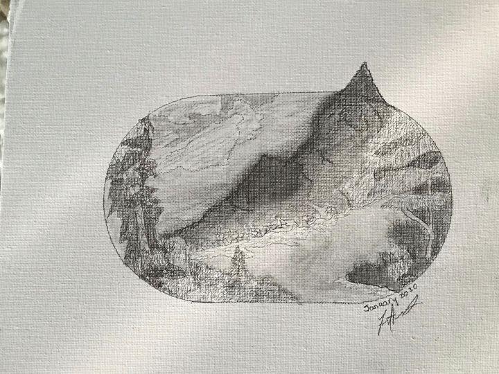 Rough side of the mountain - Frank Horton Artwork