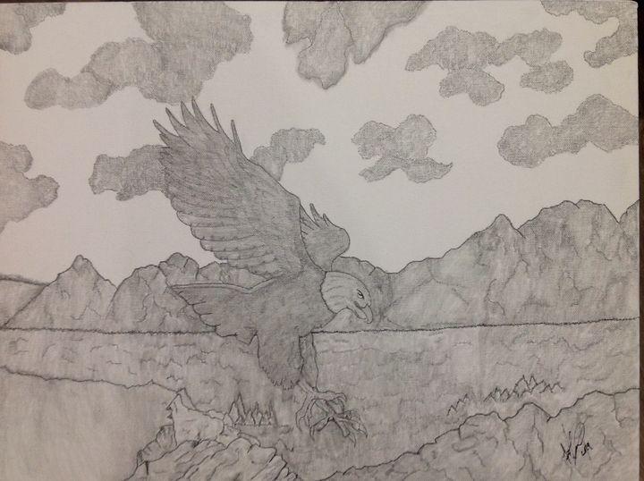 Soaring Eagle - Frank Horton Artwork