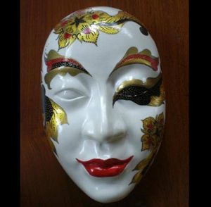 Wall Hangking Mask : M003 - Thailand Handicraft Center
