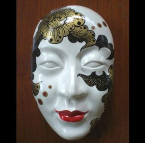 Wall Hanging Mask : M004 - Thailand Handicraft Center