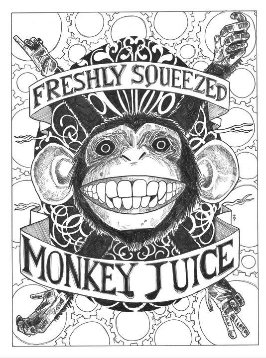 freshly squeezed monkey juice - the yellow room